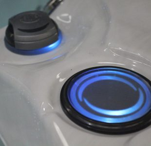 Led verlichting luchtregelaar en spot